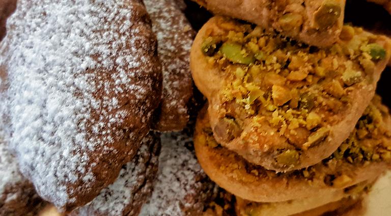 galletas de café , galletas de pistacho, coffe cookies, pistachio cookies